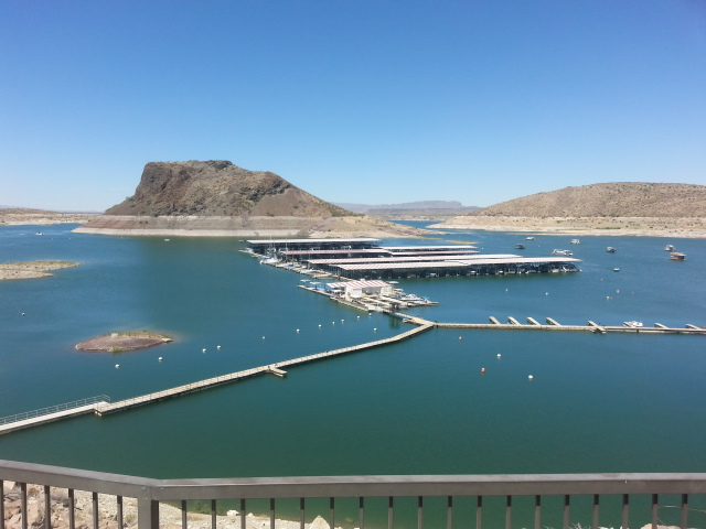 Elephant Butte Lake - View from the Damsite Recreational Area