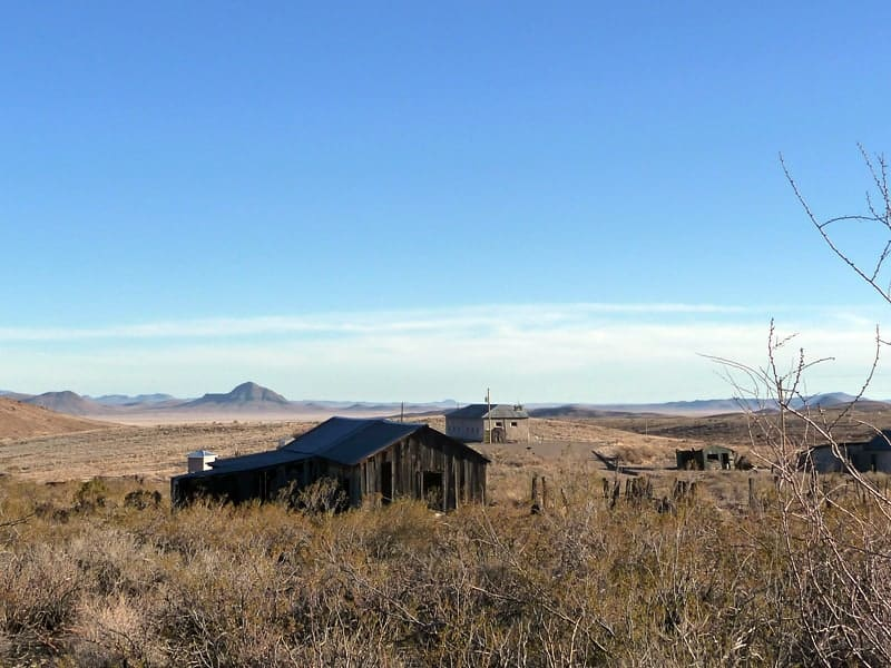 Lake Valley in Southern Sierra County New Mexico